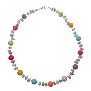 Multi colour necklace
